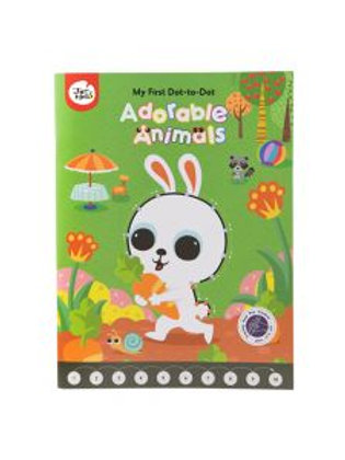 My First Dot-to-Dot Drawing Book, Adorable Animals