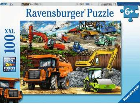 Construction Vehicles, 100pc