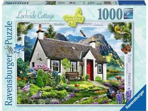 Lochside Cottage, 1000pc