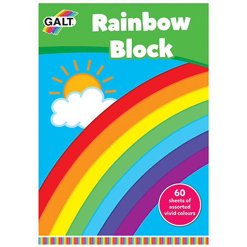 Rainbow Block - 60 sheets