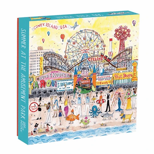 Summer at the Amusement Park by Micheal Storring, 500pc