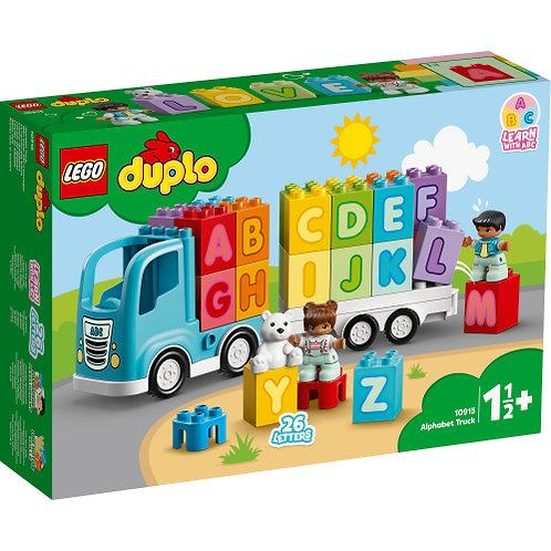 10915 Duplo - Alphabet Truck
