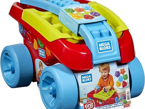 Mega Bloks - Shape Sorting Wagon