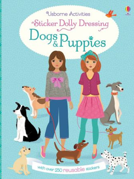 Sticker Dolly Dressing - Dogs and Puppies