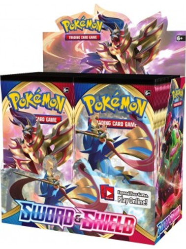 Pokemon - Sword & Shield Boosters, Sold Singularly