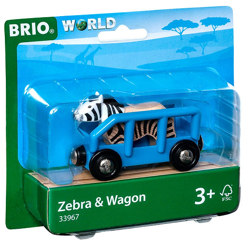 Safari Wagon & Zebra
