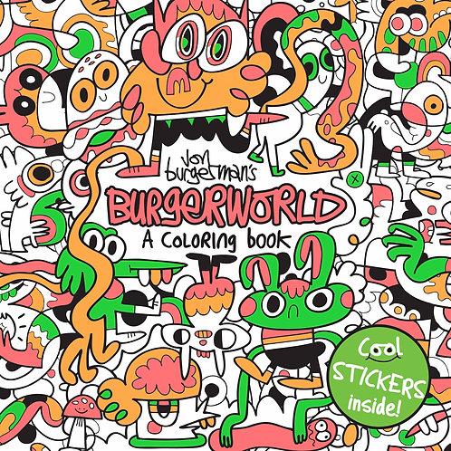 Burgerworld: A Colouring Book