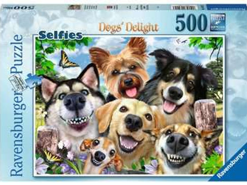 Selfies Dogs Delight, 500pc