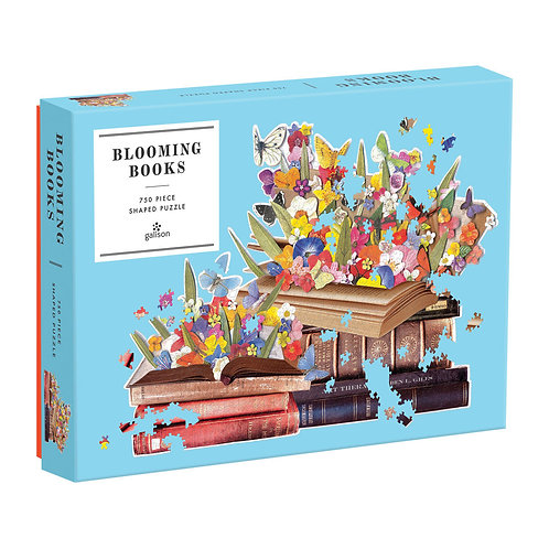 Blooming Books, shaped Puzzles - 750pc
