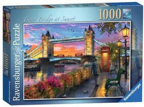 Tower Bridge at Sunset, 1000pc