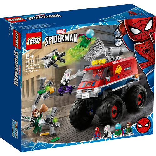 76174 - Spiderman Monster Truck vs Mysterio