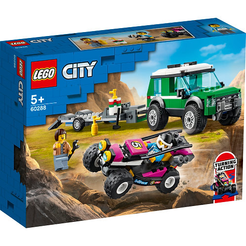 60288 City - Race Buggy Transporter