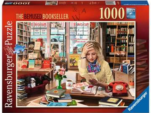 The Bemused Bookseller, 1000pc