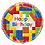 """Thumbnail: 18"""" Happy Birthday Foil Round Balloon with Bubble Weight - Assorted Designs"""