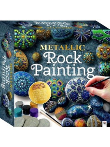 Metallic Rock Painting