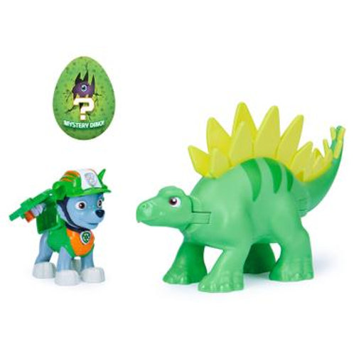 PAW Patrol, Dino Rescue Pup and Dinosaur Action Figure Set 7