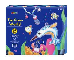 Ocean World Shrink Art