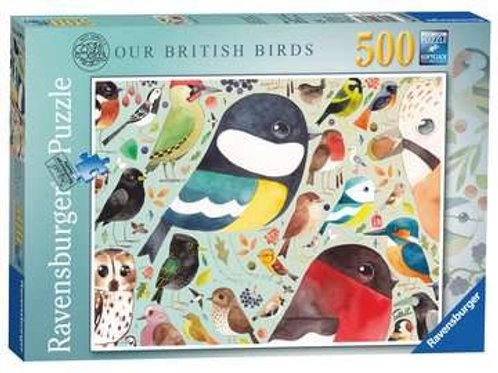 Matt Sewell´s, Our British Birds, 500pc