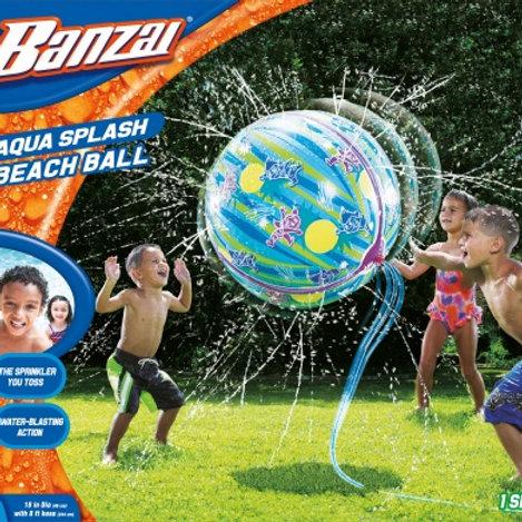 Banzai Aqua Splash Beach Ball