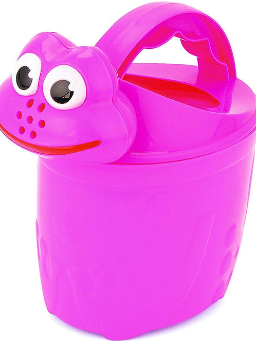 15cm Frog Watering Can - Assorted Colours