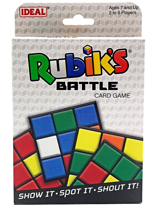 Rubik's Battle Card Game