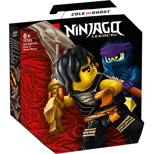 71733 Ninjago - Battle Set - Cole vs. Ghost Warrior