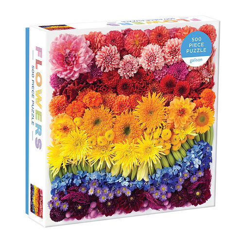 Rainbow Flowers, 500pc