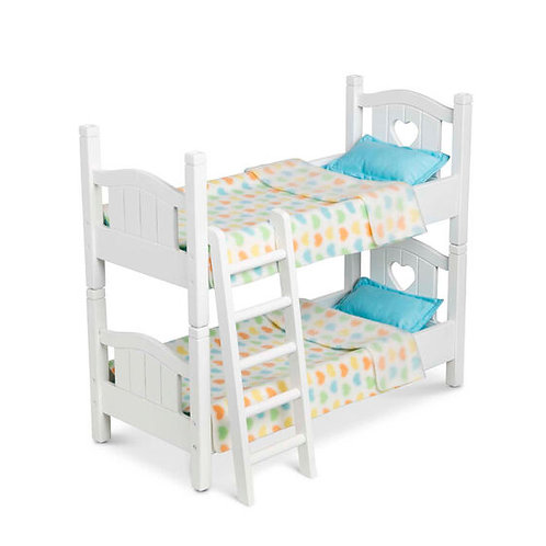 Mine To Love Wooden Play Bunk Beds