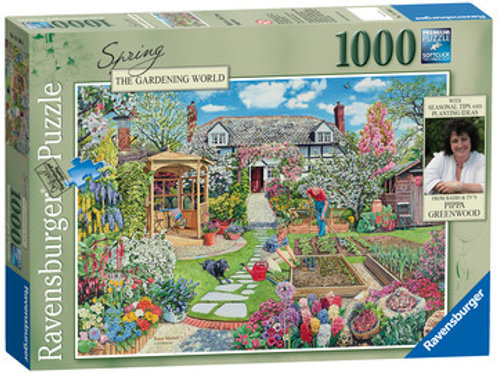 Spring, The Gardening World, 1000pc