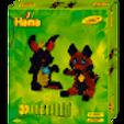 Hama Beads - 3D Rabbit & Fox