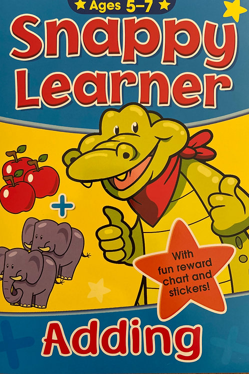 Snappy Learner Adding - Age 5+