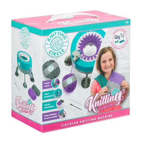 Knitting Station - Circular Knitting Machine