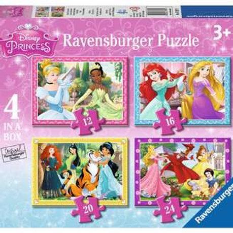 Disney Princess, 4 in a box