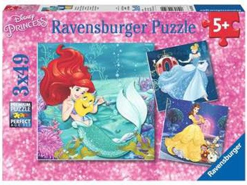 Princess Adventure, 3 x49pc