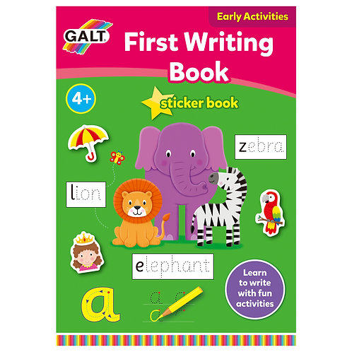 First Writing Sticker Book  - Age 4+