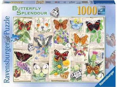 Butterfly Splendours, 1000pc