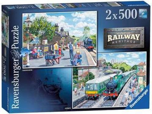 Railway Heritage No 1, 2x500pc