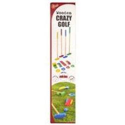 Wooden Crazy Golf
