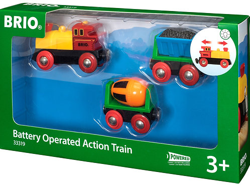 Battery Op Action Train
