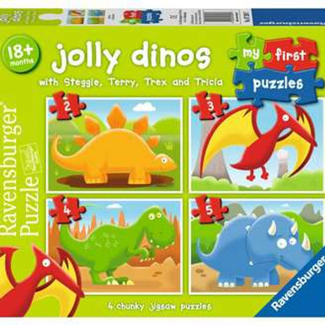 My First Puzzle - Jolly Dinos