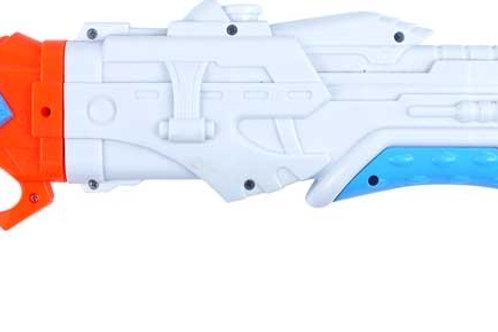 Water Space Gun Pump Action 40cm