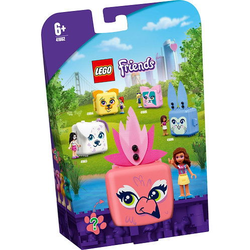 41662 Friends - Olivia's Flamingo Cube