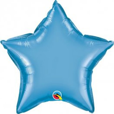 Without Weight - Star Shaped Foil Balloon - Assorted Colours