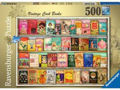 Vintage Cook Books, 500pc