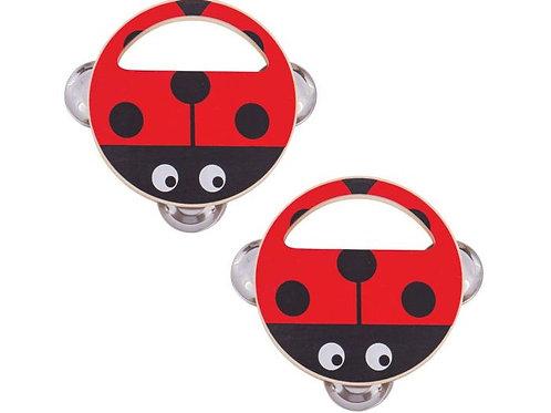 Ladybird Hand Shakers - sold singularly