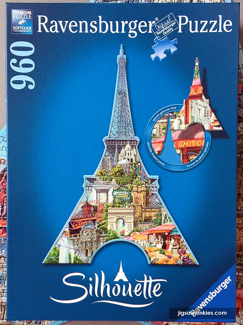 Eiffel Tower Shaped Puzzle, 960pc