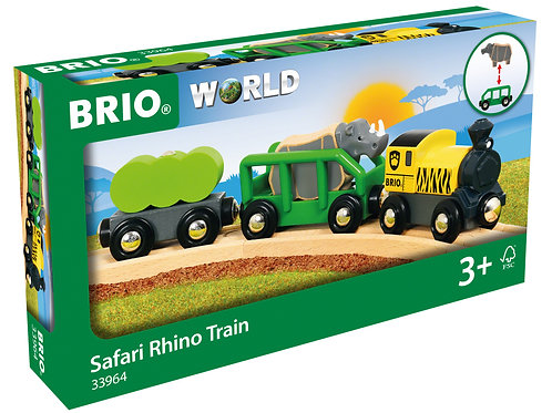 Safari Rhino Train