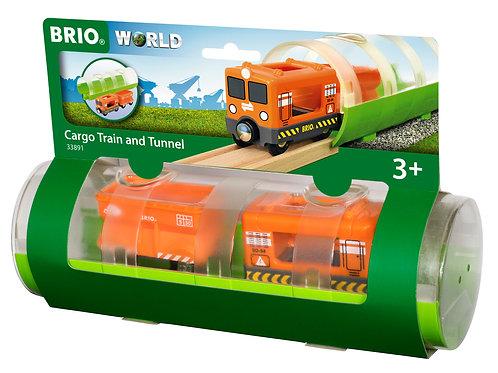 Tunnel & Cargo Train