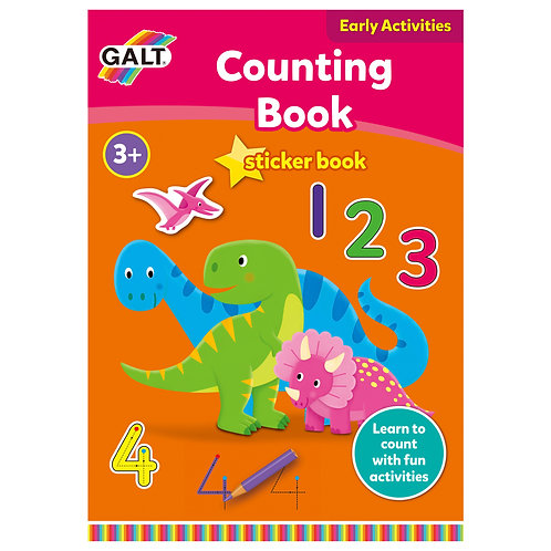 Counting Sticker Book - Age 3+