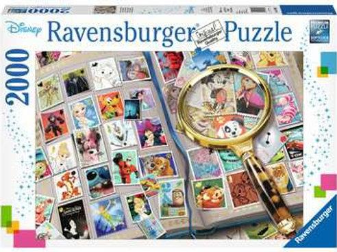 Disney Stamp Album, 2000pc
